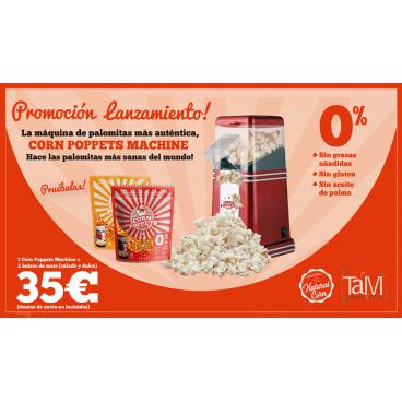 OFERTA! Corn Poppets Machine + Maíz Salado y Dulce